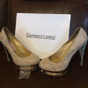 Gianmarco Lorenzi Double Platform Stilettos